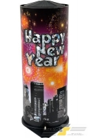 Riesentischbombe Happy New Year